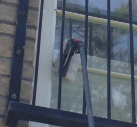 We clean all hard to reach windows